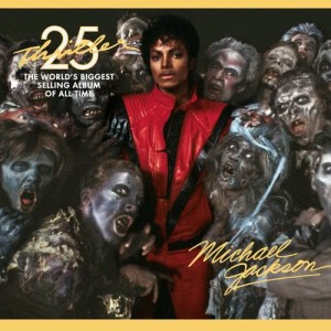 Michael Jackson的專輯顫慄 CD+DVD(25週年精裝別冊限量珍藏版)