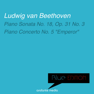 "Album Blue Edition - Beethoven: Piano Sonata No. 18, Op. 31 No. 3 & Piano Concerto No. 5 ""Emperor"" from Peter Toperczer"