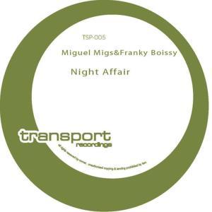 Album Night Affair from Franky Boissy