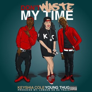 Keyshia Cole的專輯Don't Waste My Time (feat. Young Thug) - Single