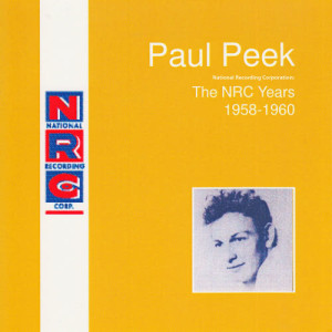Album National Recording Corporation: The NRC Years 1958-1960 from Paul Peek