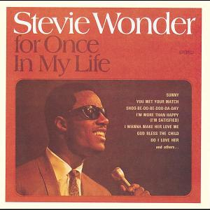 For Once In My Life 1968 Stevie Wonder