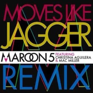Album Moves Like Jagger from Maroon 5
