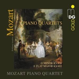 Album Mozart: Piano Quartets from Mozart Piano Quartet
