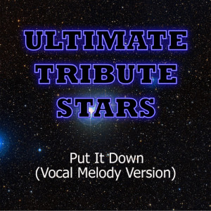 Ultimate Tribute Stars的專輯Brandy feat. Chris Brown - Put It Down (Vocal Melody Version)