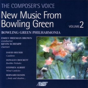 Album New Music from Bowling Green, Vol. II from Bowling Green Philharmonia