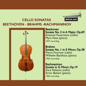 皮埃爾·富尼埃的專輯Cello Sonatas by Beethoven, Brahms and Rachmaninov