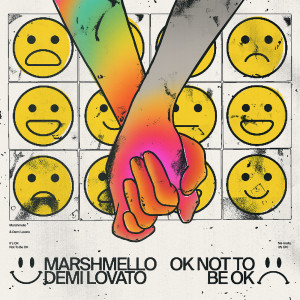 Listen to OK Not To Be OK song with lyrics from Marshmello
