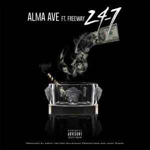Album 24-7 (feat. Freeway) - Single from Alma Ave