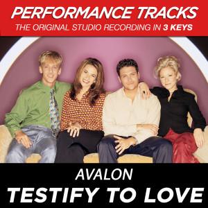 Testify To Love 2001 Avalon