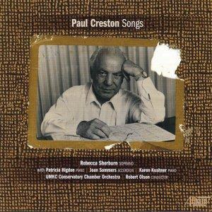 Album Paul Creston: Songs from Rebecca Sherburn