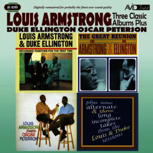 Louis Armstrong的專輯Three Classic Albums Plus (Recording Together for the First Time / The Great Reunion / Louis Armstrong Meets Oscar Peterson) [Remastered]