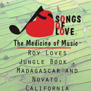 Album Roy Loves Jungle Book , Madagascar and Novato, California from M.Lewis