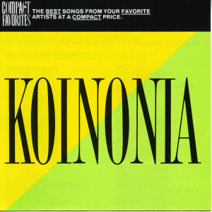 Compact Favorites 1989 Koinonia