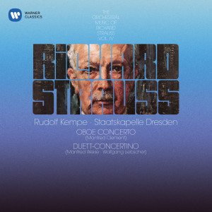 Album Strauss, R: Oboe Concerto & Duett-Concertino for Clarinet, Bassoon and Strings from Rudolf Kempe