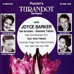 Listen to Turandot: Tre riposto - Act two song with lyrics from Joyce Barker