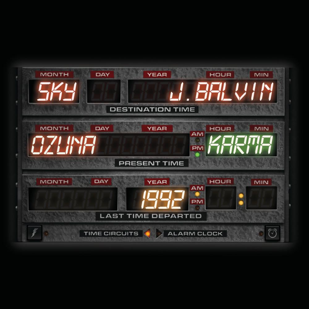 Karma 2018 Sky; J Balvin; Ozuna