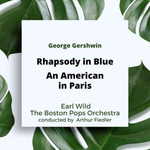 Album Gershwin: Rhapsody in Blue / An American in Paris from Boston Pops Orchestra