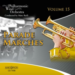 Album Parade Marches Volume 15 from Marc Reift