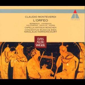 Album Monteverdi : L'Orfeo from Rotraud Hansmann