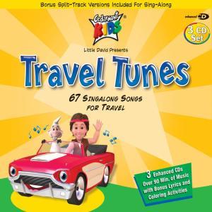 Album Travel Tunes from Cedarmont Kids