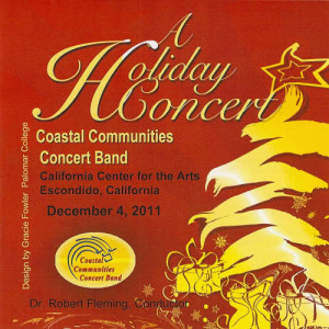John Higgins的專輯Coastal Communities Concert Band - A Holiday Concert 2011