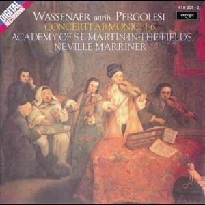 Album Wassenaer: Concerti Armonici (attrib. Pergolesi) from Academy of St Martin-in-the-Fields Chorus