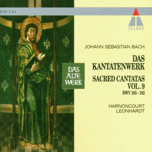 Album Bach : Sacred Cantatas Vol.9 : BWV 163-166 from Concentus Musicus Wien