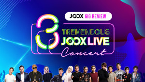 Konsert 3 Tremendous JOOX Live!