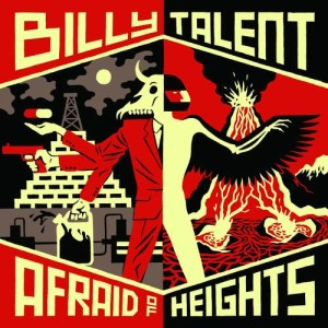 Album Afraid of Heights from Billy Talent