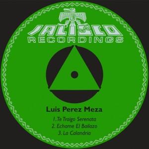 Album Te Traigo Serenata from Luis Perez Meza