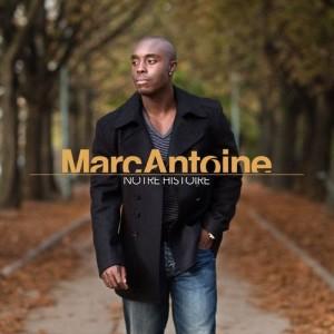 Album Notre Histoire from Marc Antoine