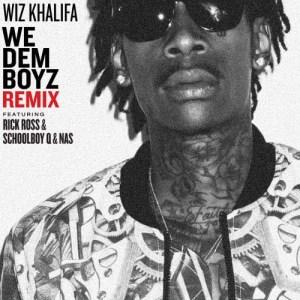 Wiz Khalifa的專輯We Dem Boyz Remix (feat. Rick Ross, ScHoolboy Q & Nas) (Explicit)