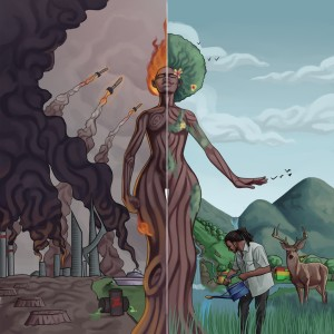 Album Mother Nature from Julian Marley