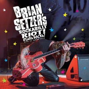 Album Let's Shake from Brian Setzer