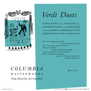 Album Verdi Duets from Richard Tucker