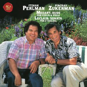 Itzhak Perlman的專輯Mozart: Duos for Violin and Viola, K. 423 - 424 & Leclair: Sonata for Two Violins No. 4 in F Major