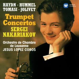 Album Haydn, Hummel, Tomasi & Jolivet: Trumpet Concertos from Sergei Nakariakov