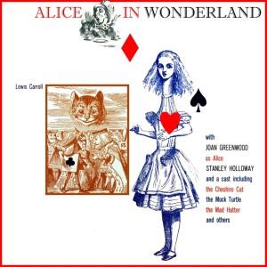 Album Alice In Wonderland from Joan Greenwood