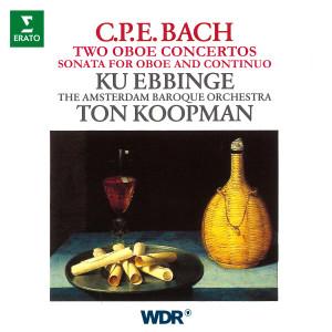 Album CPE Bach: Oboe Concertos, Wq. 164 & 165, Oboe Sonata, Wq. 135 from Amsterdam Baroque Orchestra