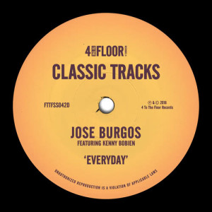Album Everyday (feat. Kenny Bobien) from Jose Burgos