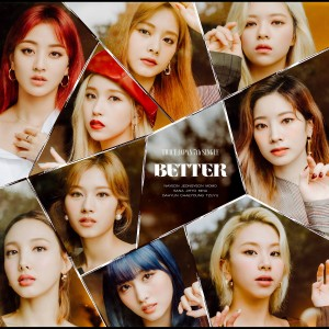 Album BETTER from TWICE
