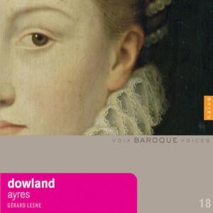 Album Dowland: Ayres from Gerard Lesne