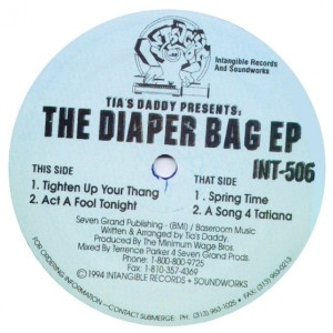 Album The Diaper Bag EP from Terrence Parker