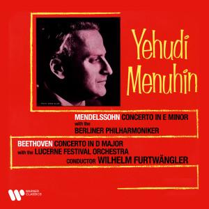 Album Beethoven & Mendelssohn: Violin Concertos from Yehudi Menuhin