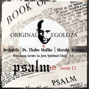 Album Psalm 102verse17 from Rethabile