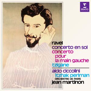 Album Ravel: Concerto en sol, Concerto pour la main gauche & Tzigane from Itzhak Perlman