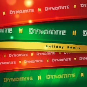 防彈少年團的專輯Dynamite (Holiday Remix)