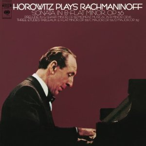 Album Rachmaninoff: Piano Works from Vladimir Horowitz