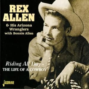 Album Riding All Day - The Life of a Cowboy from Rex Allen